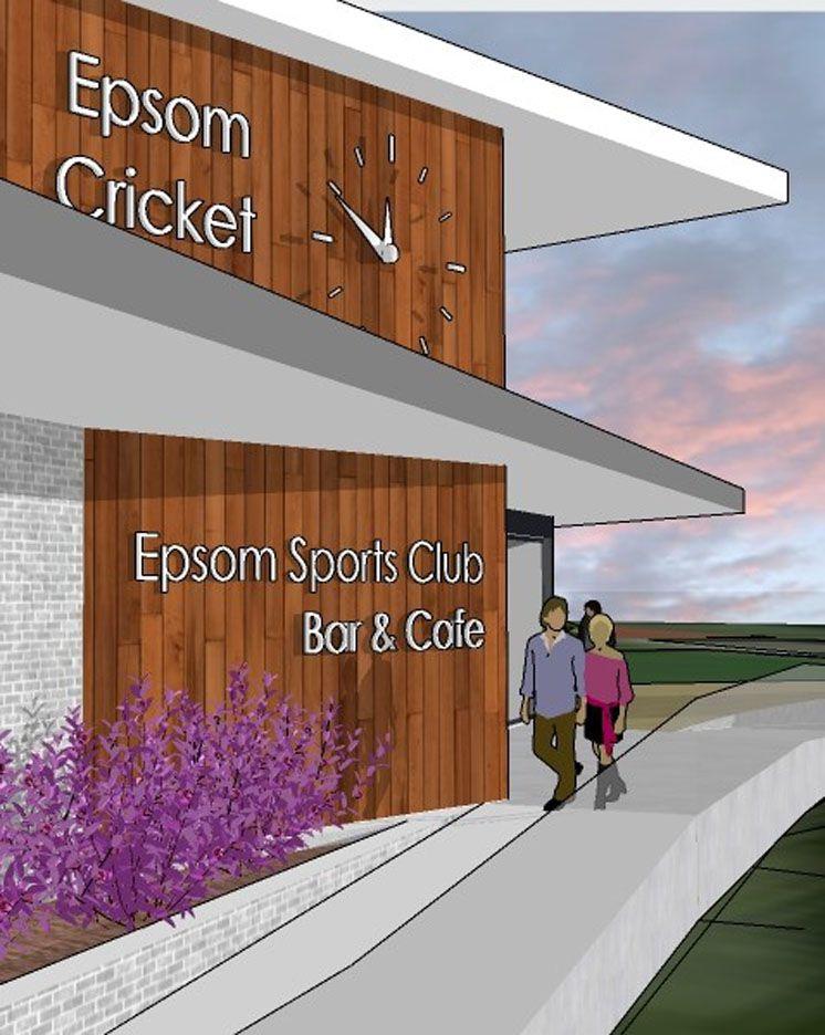 New Woodcote Pavilion, Epsom Sports Club; Epsom, Surrey 1