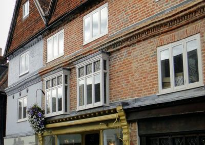 Property Development: Repair and Remodelling of a Grade II Listed Terrace; West Street, Dorking, Surrey