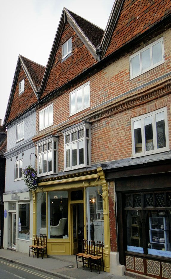 Property Development: Repair and Remodelling of a Grade II Listed Terrace  West Street, Dorking, Surrey 1