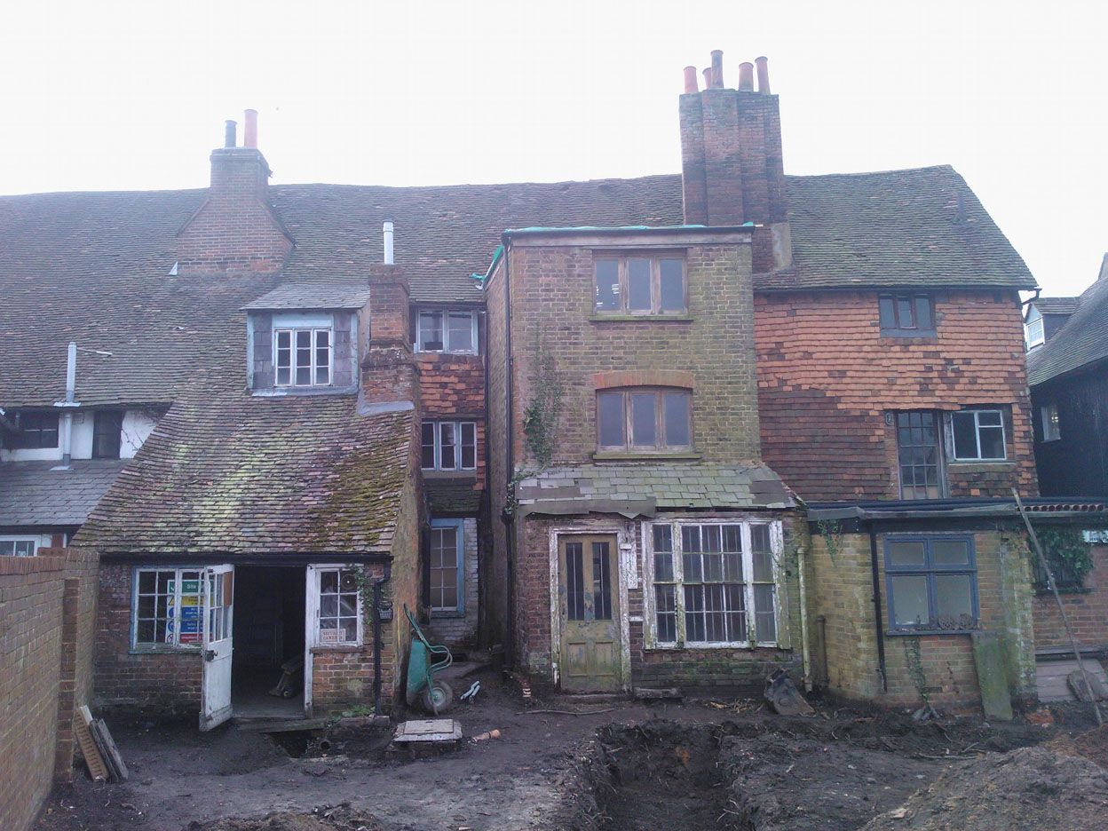 Property Development: Repair and Remodelling of a Grade II Listed Terrace West Street, Dorking, Surrey 12