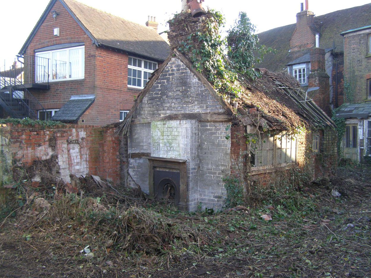 Property Development: Repair and Remodelling of a Grade II Listed Terrace West Street, Dorking, Surrey 13