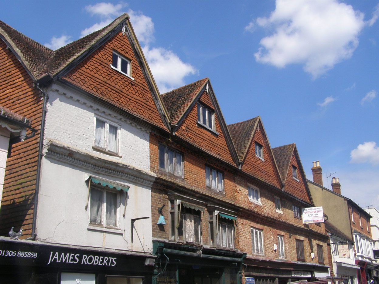 Property Development: Repair and Remodelling of a Grade II Listed Terrace  West Street, Dorking, Surrey 2