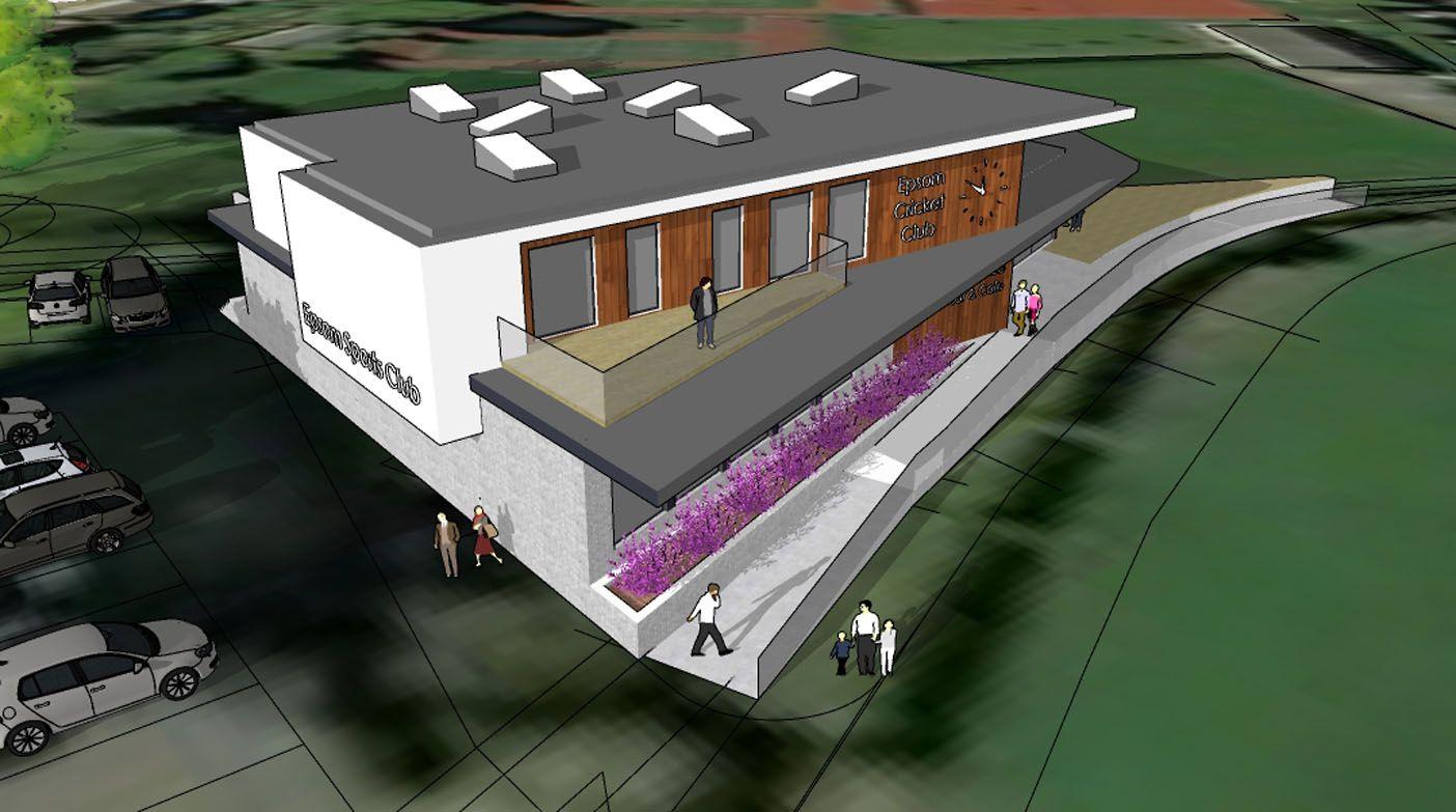 New Woodcote Pavilion, Epsom Sports Club; Epsom, Surrey 2