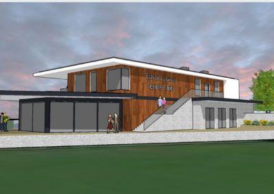 New Woodcote Pavilion, Epsom Sports Club; Epsom, Surrey