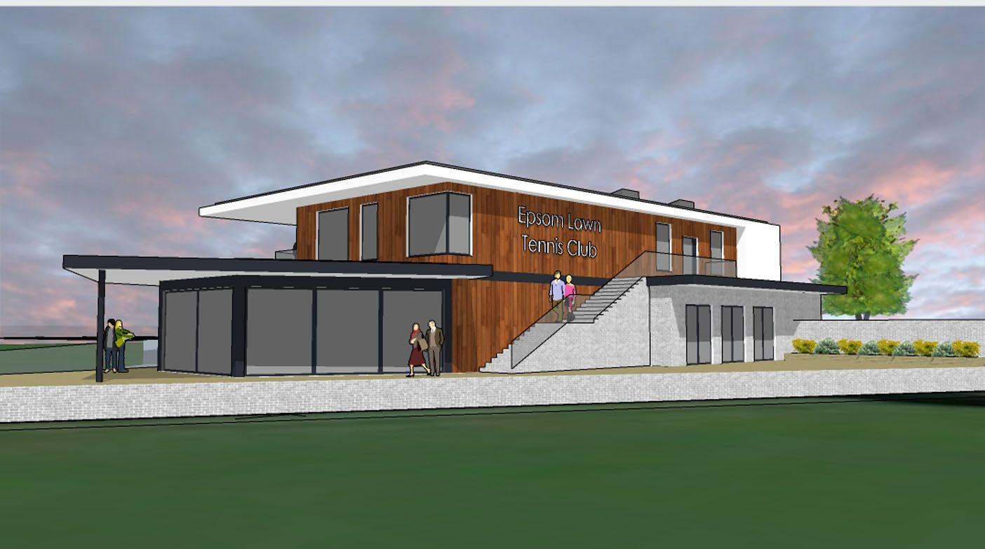New Woodcote Pavilion, Epsom Sports Club; Epsom, Surrey 3