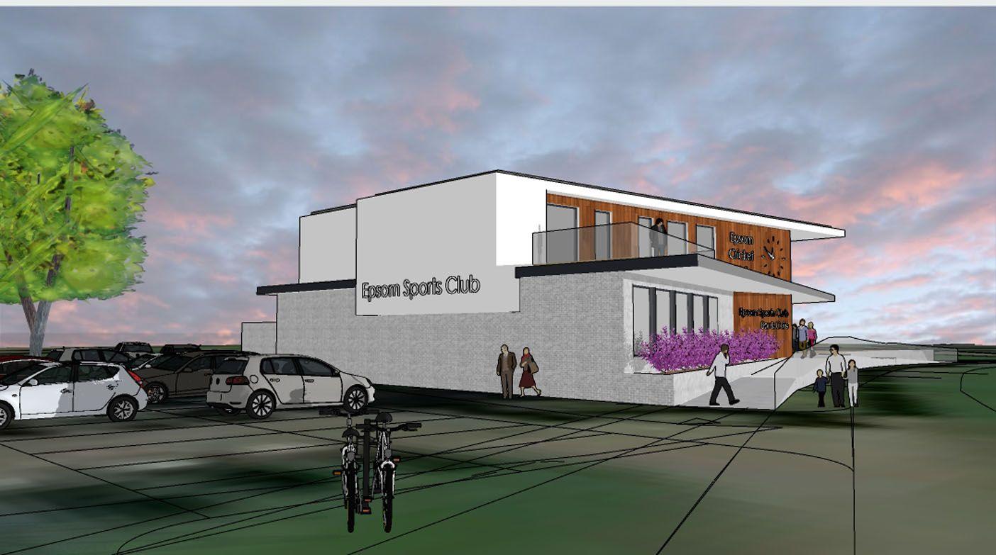 New Woodcote Pavilion, Epsom Sports Club; Epsom, Surrey 4