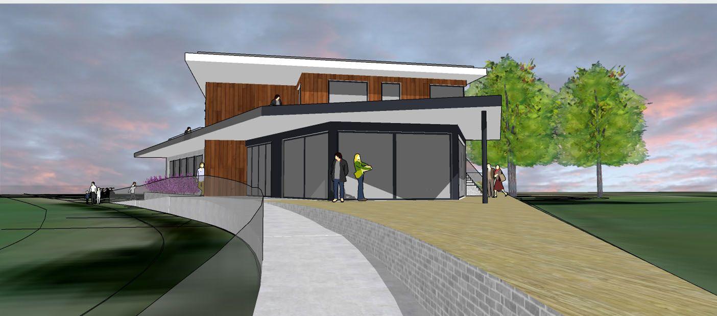 New Woodcote Pavilion, Epsom Sports Club; Epsom, Surrey 5