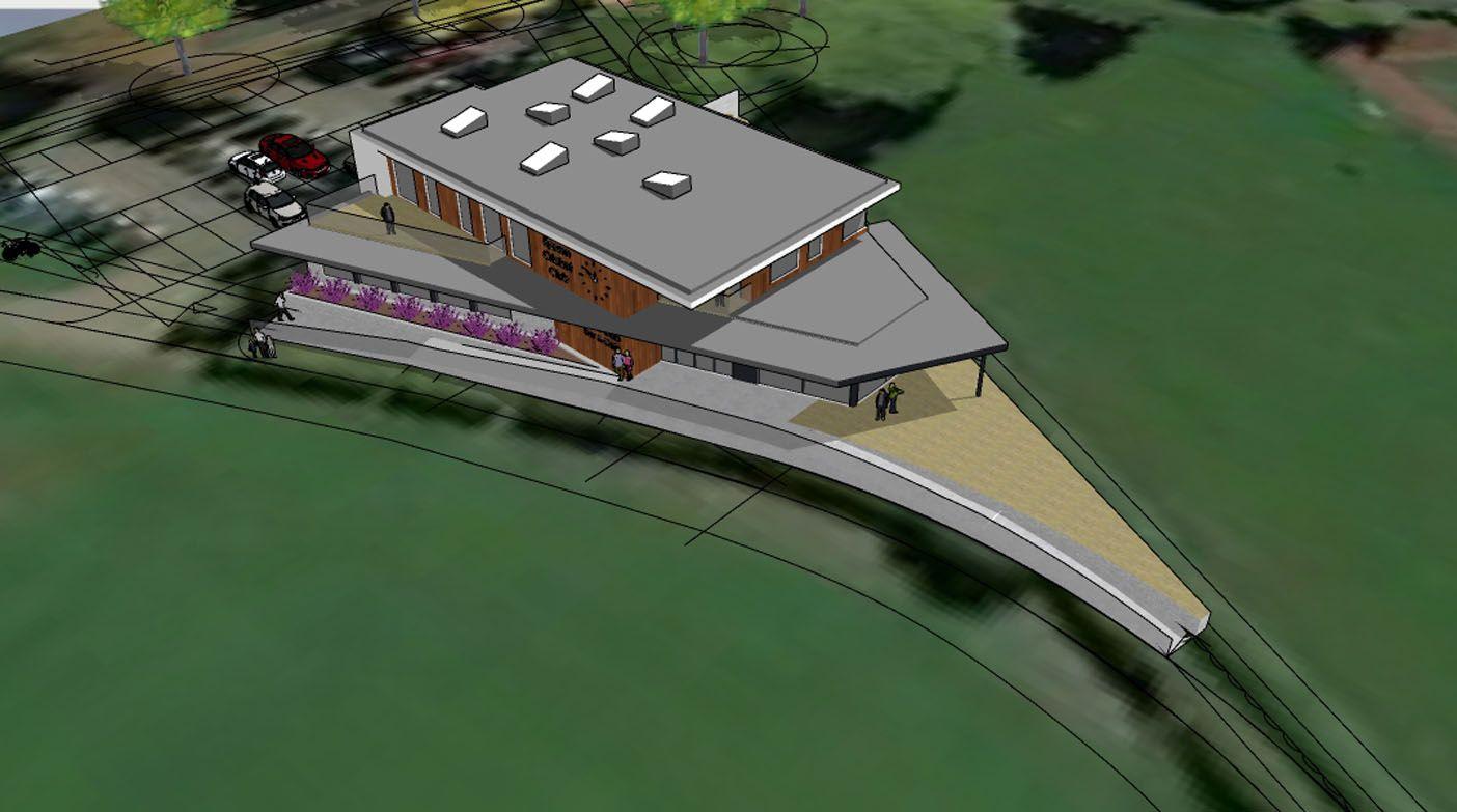 New Woodcote Pavilion, Epsom Sports Club; Epsom, Surrey 6