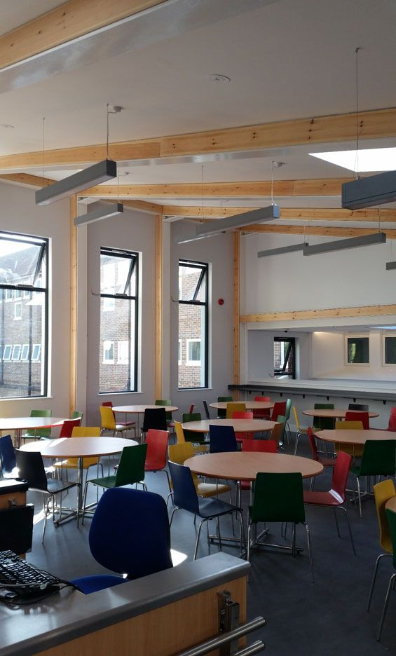 Glenthorne High School New Kitchen and Dining Facilities London Borough of Sutton 6